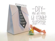 DIY – La cravate surprise de la fête des pères