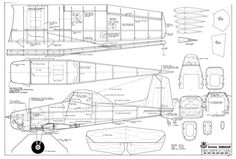 The Cessna Agwagon is one of the model airplane plans available for download and printing.
