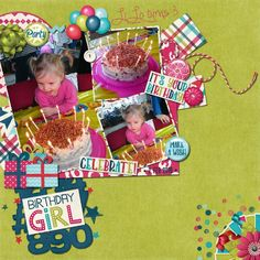 Layout using {It's Your Birthday} Digital Scrapbooking Collection by CathyK Designs http://www.gottapixel.net/store/product.php?productid=10024946&cat=&page=1 #digiscrap #digitalscrapbooking #cathykdesigns #itsyourbirthday