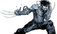 Artist Dexter Soy has created some really cool comic character and fan art, and here's a few incredibly cool Wolverine illustrations that he has created. I love the energy the artist packed into these pieces! Marvel Comics, Hq Marvel, Marvel Heroes, Anime Comics, Marvel Films, Comic Book Characters, Marvel Characters, Comic Character, Comic Books Art