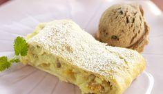 """Strudel De Manzana Con Helado De Chocolate"" en Nestlé Cocina #recetas #nestlecocina #menuplanner #cocina"