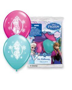 """Pioneer National Latex Disney 12"""" Frozen 6 Balloons, Assorted $3.48"""