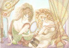 As in a mirror - Eyes of Raaaél Princess Zelda, Artwork, Fictional Characters, Mirror, Eyes, Work Of Art, Auguste Rodin Artwork, Mirrors, Artworks