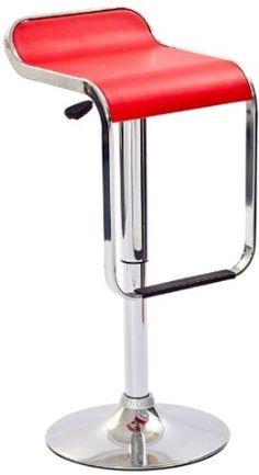 Amazon.com: LexMod LEM Piston Style Vinyl Bar Stool, Red: Home & Kitchen