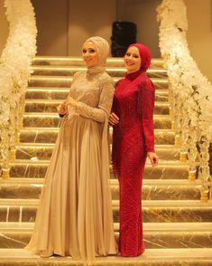 Muslim Brides, Muslim Girls, Muslim Women, Modest Fashion, Hijab Fashion, Malay Wedding Dress, Simple Hijab, Henna Night, Bridesmaid Dresses