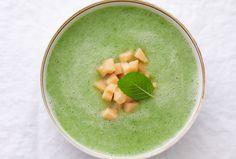 Chilled Cucumber Melon Soup