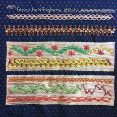 TAST – Fancy Herringbone Stitch Sampler | Mostly Knitting Blog