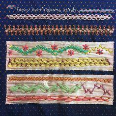TAST – Fancy Herringbone Stitch Sampler | Mostly Knitting Blog