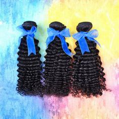 $67.92 28 Inches Laconic Long Curly Malaysian Human Hair Hair Extension For Women