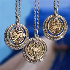 Sweet Romance 2016 Holiday Gift Guide.  Perfect Zodiac necklace!  Great gift for astrology lovers!   #gift #astrology #zodiac #necklace #holiday