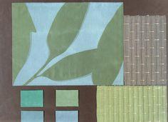 Showing BROCHIER #fabrics: Bosco, Poggioreale, Bruce and Raso.http://brochier.it/fabrics/design-inspiration/504-cielo/