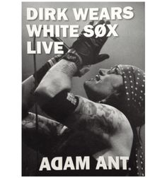The original Prince Charming, Adam Ant will be joining the Loose Women tomorrow. Tour Posters, Music Posters, Adam Ant, Big Music, Prince Charming, Dandy, Cool Bands, Bristol, Cuttings
