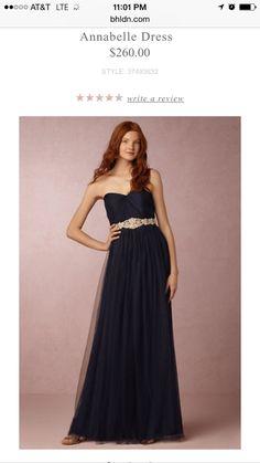 This dress is convertible; bridesmaid option