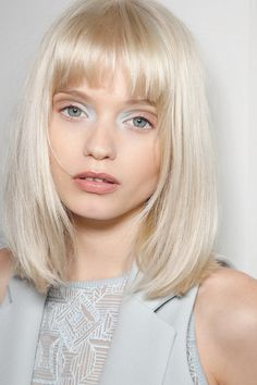 wink-smile-pout: Abbey Lee Kershaw Backstage at Preen Spring 2011