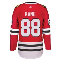 e9dd91c57 Chicago Blackhawks Men s Patrick Kane Red Home Authentic Jersey