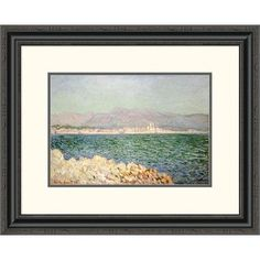 Global Gallery 'Golfe d'Antibes' by Claude Monet Framed Painting Print Size: