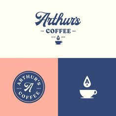 coffee branding Heading into 2019 with a slate of exciting new projects. Wip direction for a special coffee shop. Coffee Shop Branding, Coffee Shop Logo, Cafe Branding, Coffee Packaging, Business Branding, Branding Design, Logo Design, Coffee Shops, Iced Coffee