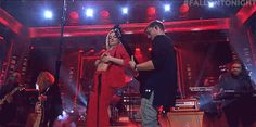 dancing tonight show performance musical fallon tonight bebe rexha martin garrix in the name of love #gif from #giphy