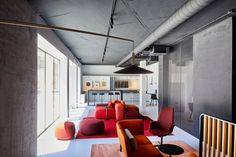 Conference Room, Orange Furniture, Table, Architecture, Showroom, Interior, Projects, Cool Designs, Designers