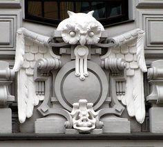 Architectural details. Riga, Latvia.