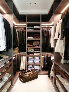 Wohnideen Mann modern home mens closet design closet designs spaces and penthouses