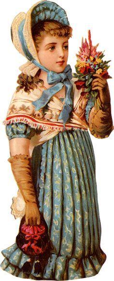 victorian trade card paper dolls - Google-søk