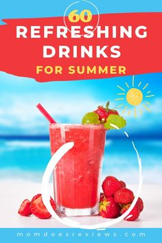 With the summer heat bearing down on us, we are all looking for refreshing drinks to keep us cooled down and hydrated. Whether you are sitting poolside or looking for yummy beverages for your backyard barbecue, we have 60 Refreshing Non-Alcoholic #Drinks you just have to try! #beverages #summerdrinks Drink Recipes Nonalcoholic, Rum Cocktail Recipes, Iced Tea Recipes, Easy Drink Recipes, Non Alcoholic Drinks, Cooking Recipes, Party Drinks Alcohol, Drinks Alcohol Recipes, Fun Drinks