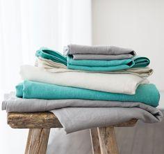 Kas Room Linen Cotton Sheet Set Range