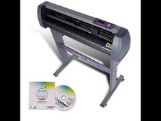 USCutter 28 in Vinyl Cutter Plotter with Stand and SCAL ProNew Design an...