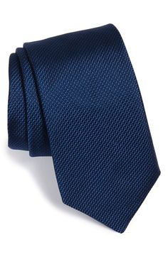 Men's Ted Baker London Solid Silk Tie