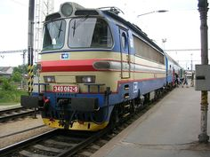 List of České dráhy locomotive classes Europe Train, Train Journey, Locomotive, Techno, Transportation, Tourism, Public, World, Trains