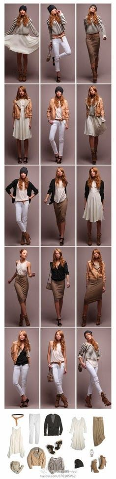 Different Outfits with Different Ways for Ladies, Different Clothes