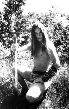 """Nergal (Behemoth)  From the album """"Grom"""" photosession :D"""