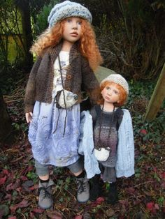 Zwergnase Dolls and Bears by Nicole Marschollek