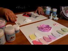 How to paint with palette knife,creating a texture with acrylic, Part Lana KanyoWork in the technique of sculptural painting. Plaster Crafts, Plaster Art, Sculpture Painting, Wall Sculptures, Decoupage, Video Rosa, Decorative Plaster, Palette Knife Painting, Clay Flowers
