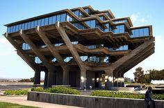 Bibliothèque Geisel à l'Université de Californie, San Diego, San Diego, Etats-Unis