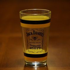 50d6d77c07e0ce Jack Daniel s Tennessee Honey pint new glass at The Whiskey Cave Tennessee  Honey