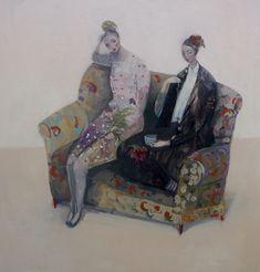Magical Paintings by Kristin Vestgård Figure Painting, Painting & Drawing, Magical Paintings, Watercolor Architecture, List Of Artists, Illustration Girl, Art Studies, Art Techniques, Artist At Work