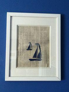Nautical Nursery Decor , Nautical Decor,Sailboat on Etsy, $12.00