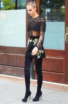 Cara Delevingne wows in every outfit she wears, and you can rock them too.