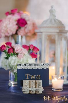Featured Photographer: K & K Photography; Clearwater Wedding at Carlouel Yacht Club - love the table number idea