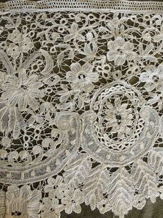 Brussels Duchesse, the lace museum there, so interesting