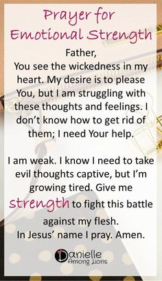 Prayers for Strength and Healing - Danielle Among Lions