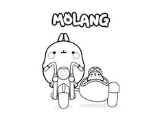 Molang Colouring Page 2 | Print these soon! | Coloring ...