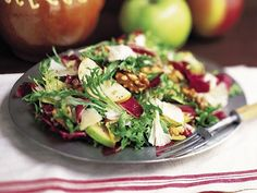 Winter Salad with Apples and White Cheddar Salad Recipes