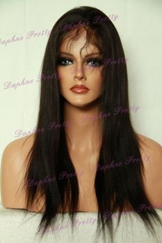 18 Yaki Straight Indian Remy Full Lace Wig by Indian Remy. $279.99. Indian Remy