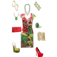 Shop the look in jewelry at www.stelladot.com/berrysbest. Jade, red and gold.., created by berrysbest on Polyvore