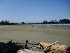 Chesterman's Beach on Vancouver Island's wild west side...discover!