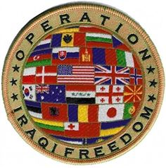 #PATCH, #OIF #FLAGS CIRCLE