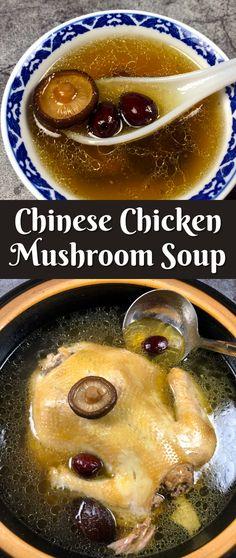 Indian Food Recipes, Asian Recipes, Real Food Recipes, Free Recipes, Healthy Soup Recipes, Chili Recipes, Chicken Mushroom Soup Recipe, Indian Soup, Dairy Free Soup